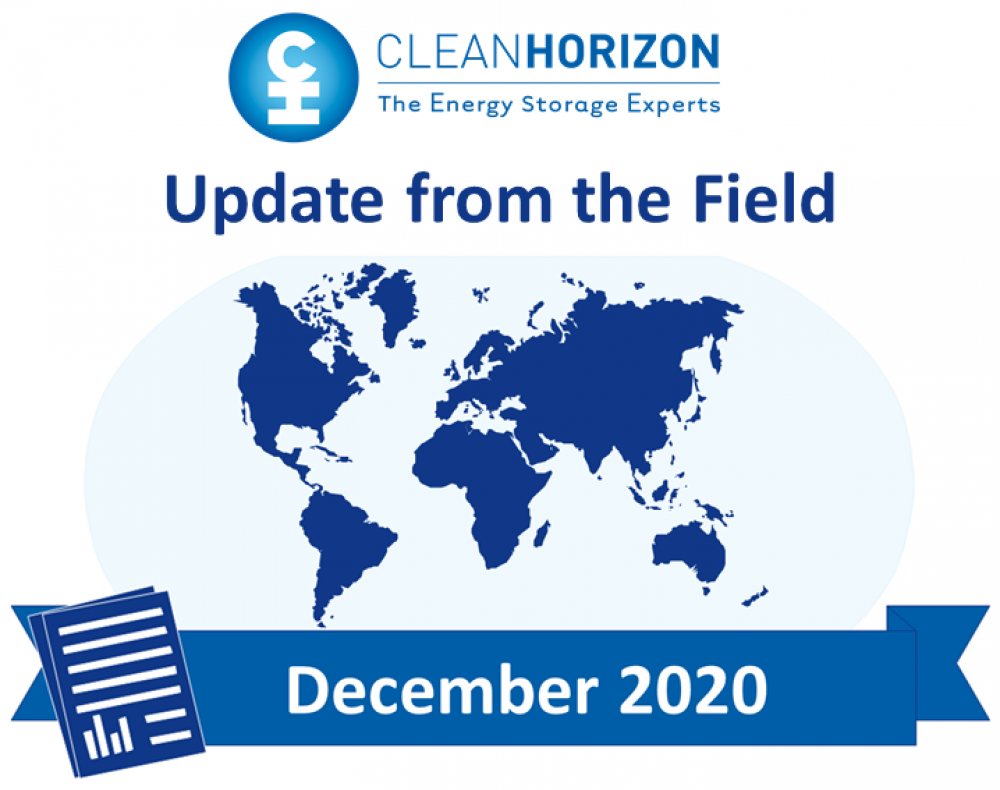 Update From the Field - December 2020: Europe 2025 battery storage market forecast