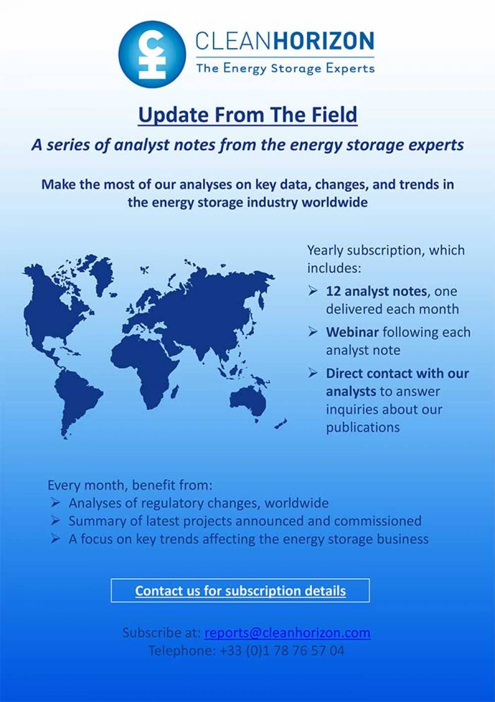 Update From The Field July 2018: Energy storage for Commercial and Industrial customers