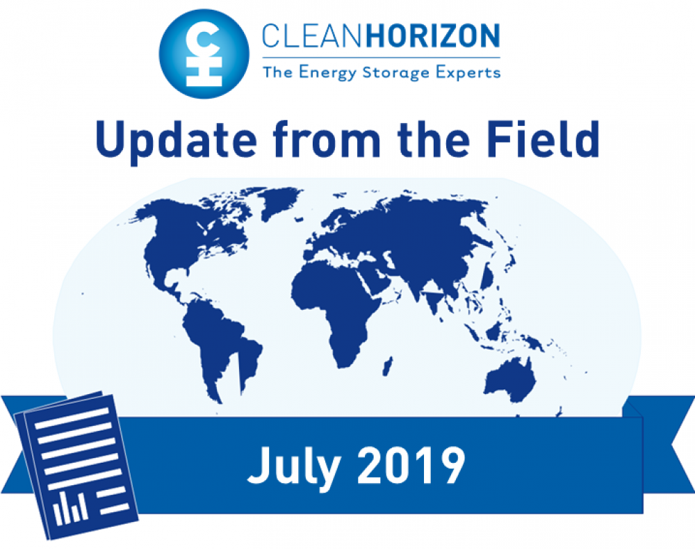 Update From The Field July 2019: Development Finance Institutions and energy storage