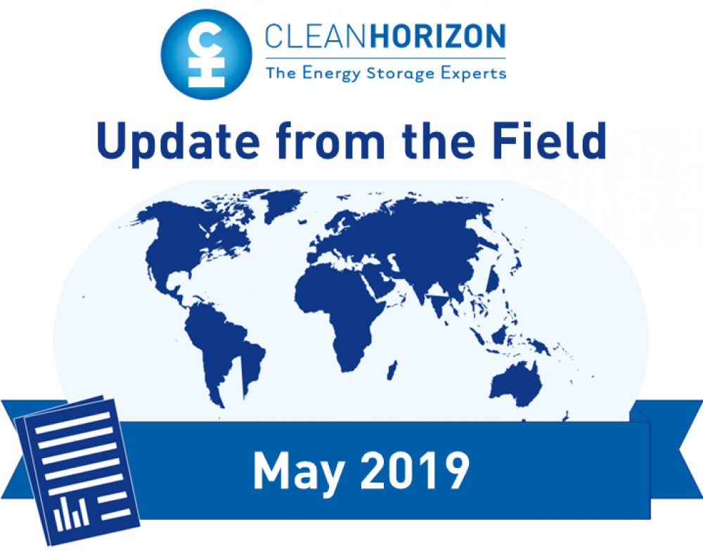 Update From The Field May 2019: Second-life applications of electric vehicle batteries